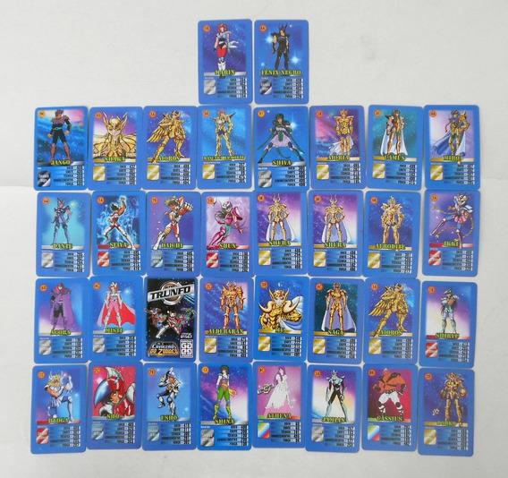 Os Cavaleiros Do Zodiaco - Super Trunfo - Grow - F(0051)