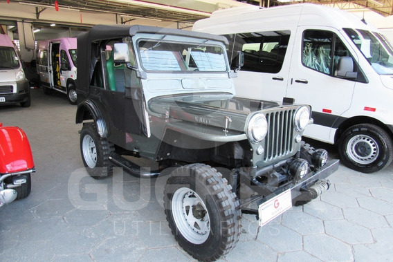 Jeep Willys 4x4 1953/1953 2p Gasolina