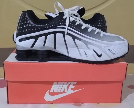 Tenis Nike Shox Neymar Jr Branco E Preto Nº38 Ao 43 Original