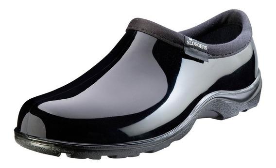 Zapatos Sloggers Dama Chef, Medico, Negro Brillante