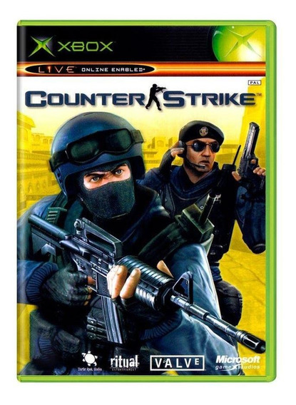 Counter Strike Xbox Classic Mídia Física Pronta Entrega