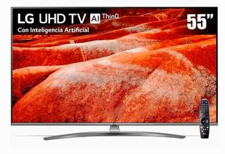 55um7650pub Pantalla LG 55 Uhd Tv Ai Thinq 4k Inc Magic Rem