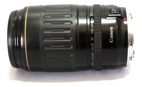 Lente Canon 100-300mm 4.5-5.6 Somente Manual Leia O Anuncio