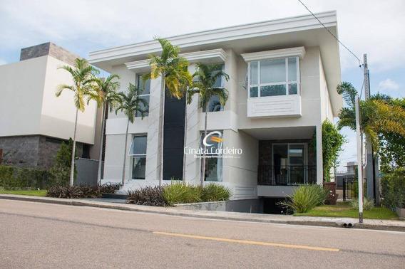Casa Com 4 Dormitórios À Venda, 426 M² Por R$ 2.200.000,00 - Intermares - Cabedelo/pb - Ca0081