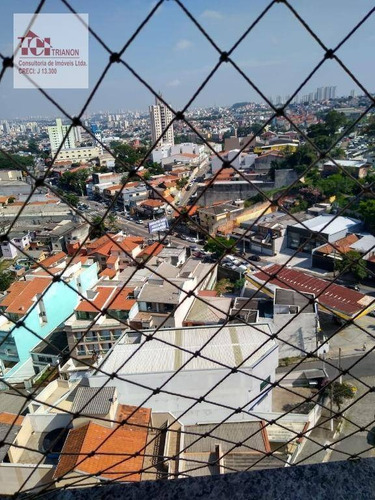 Imagem 1 de 21 de Apartamento Com 2 Dormitórios À Venda, 63 M² Por R$ 425.000,00 - Vila Valparaíso - Santo André/sp - Ap3234