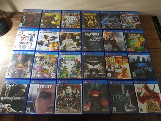 Ocasion Juegos Playstation 4 Ps4 !!!!
