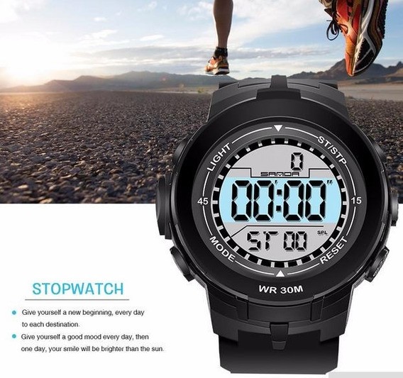 Relógio Esportivo Watch Masculino Importado Á Prova D