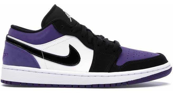 Jordan 1 Retro Low Court Purple Original