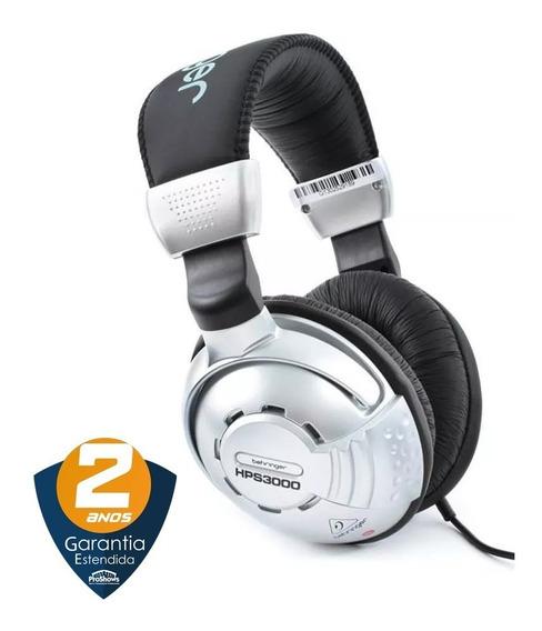 Fone De Ouvido Over Ear Para Estúdio Behringer Hps3000