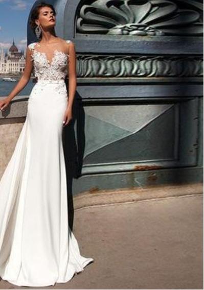 Vestido De Novia- Fiesta Hermosa Importada ! Yl2110