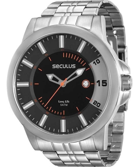 Relógio Seculus-menor Valor Do Ml!12x S/ Juros 20468g0svna2