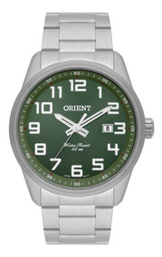 Relogio Orient Masculino Verde Original Grande Mbss1271 E2sx