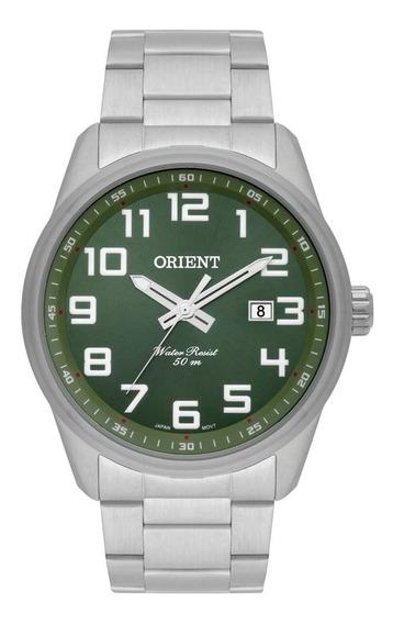 Relogio Orient Masculino Original Verde Militar A Prova Dagua Com Garantia De Fabrica E Nota Fiscal Mbss1271