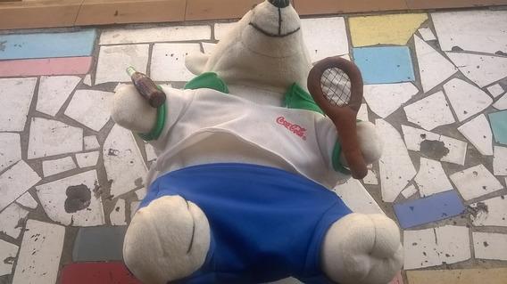 Urso De Pelúcia Coca-cola Olimpiada - Tenis