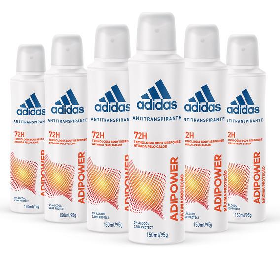 Kit Desodorante Aerossol Antitranspirante adidas Adipower Fe