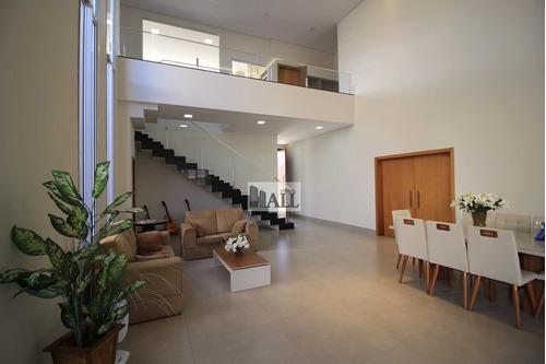 Casa À Venda Condomínio Golden Park Com 4 Quartos 4vagas, 363m² - V7969