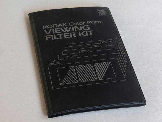 Kit De Filtros Kodak Color Print Viewing