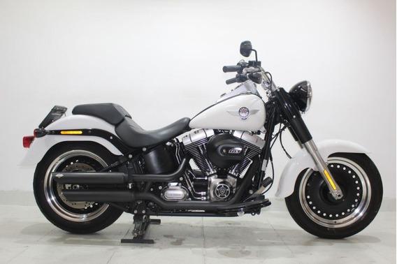 Harley Davidson Softail Fat Boy Special 2016 Branca