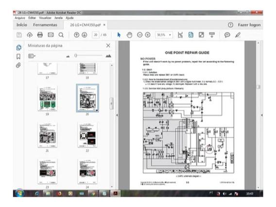 Esquema Eletrico Cm4430-cm4304-cm4330 Mini Hi-fi System