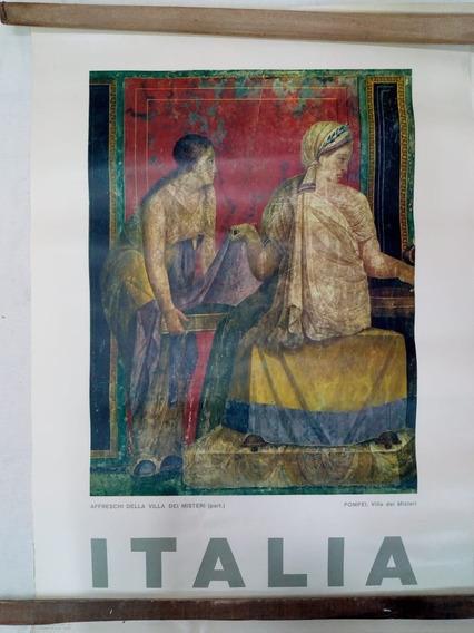 Laminas Antiguas Italianas Para Cuadros Lote X 3
