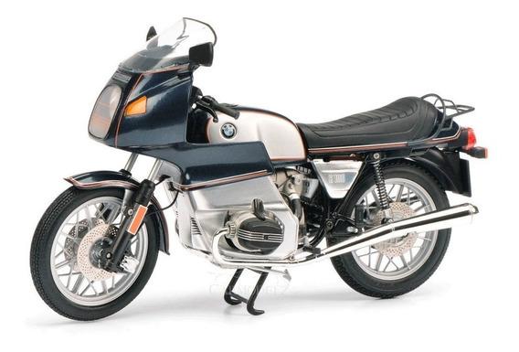 Moto Schuco Bmw R 100 Rs - Escala 1/10 - Azul Metálico