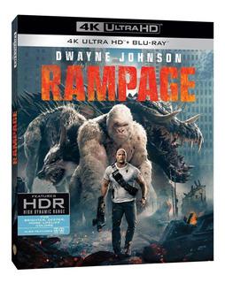 Rampage 4k 2 Blu Ray Nuevo Importado En Stock Original