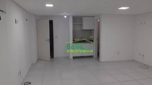 Sala Para Alugar, 32 M² Por R$ 1.900,00/mês - Espinheiro - Recife/pe - Sa0924