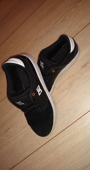 Tênis Dc Shoes Plaza Tc (preto E Branco)