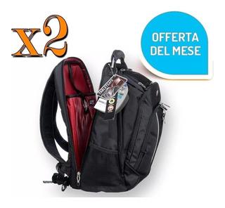 Pack X2 Mochila Notebook Computador Laptop / Envió Gratis