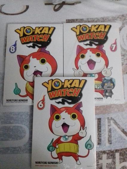 Mangá: Yo-kai Watch Vol:6, 7 E 8