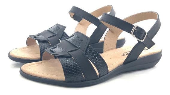 Sandalia Cuero Encore 2074 El Mercado De Zapatos!!