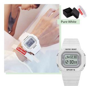 Relógio Digital Elegante,acompanha Caixa E Pulseira.