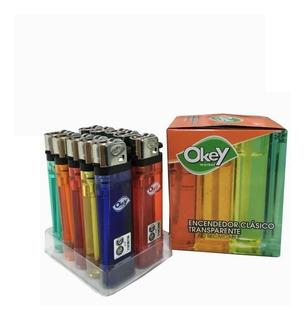 Encendedor Transparente Okey ( Pack X 10 Unid. )