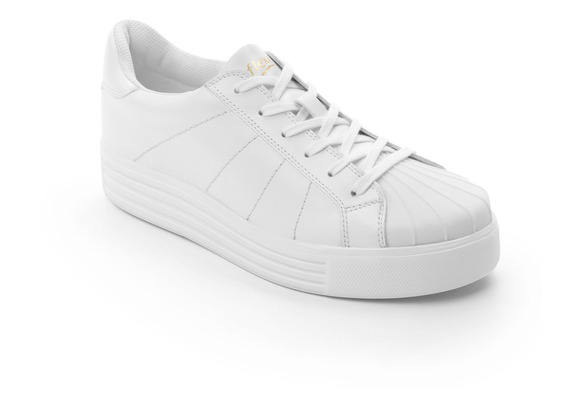 Sneaker Universitario Flexi Dama 36308 Blanco