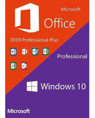 Midia Digital Do Windows 10 Pro+office 2019