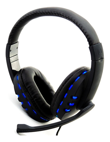 Fone Gamer Headset Usb Multimídia Para Notebook Pc-microfone