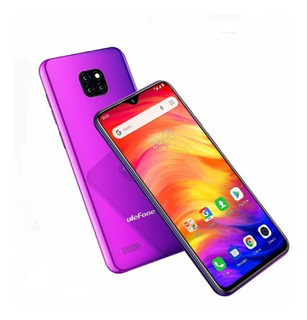 Celular Ulefone Note 7 16gb Roxo Android 8.1 3 Câm Traseira