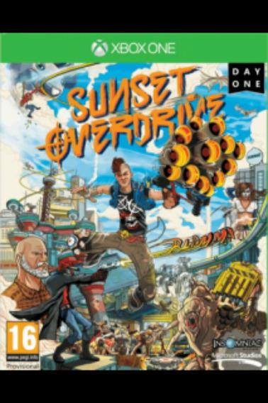 Sunset Overdrive Xbox One Digital (r$35,00 Via Deposito)