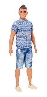 Barbie Ken Fashionistas Doll Denim Doll, Amplia