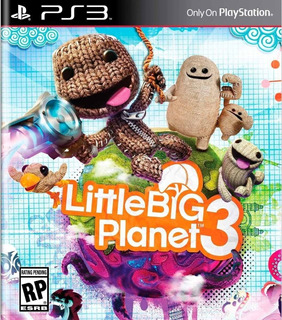 Little Big Planet 3 Juego Digital Ps3