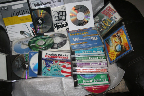 Windows 98 Works English Works Cart Racing Pinball 3d