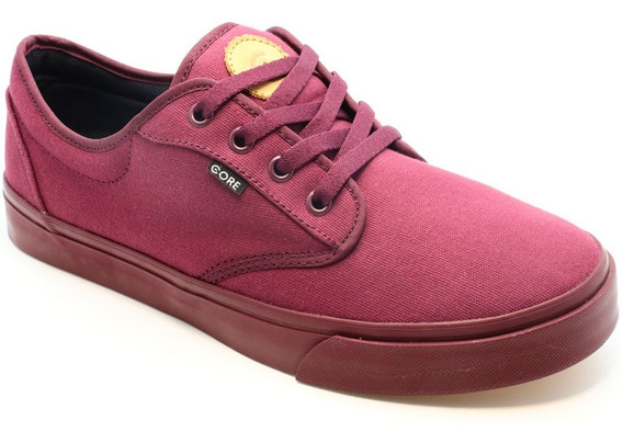 Tenis Skate Core Footwear Canvas Burgundy Burgundy 164445