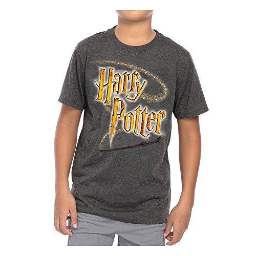 Disney Juvenil Unisex T Camisa Harry Potter Varita Logotipo