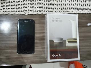 Vendo Um Galaxy S7 Edge + Google Nest Mini 2a Geração