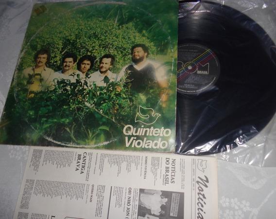 Lp Quinteto Violado, Notícias Do Brasil - Encarte