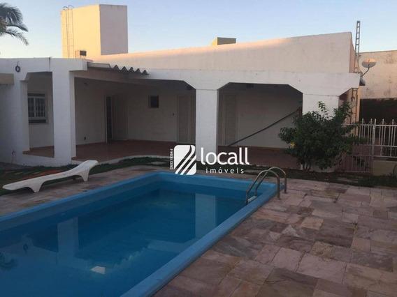 Casa Com 3 Dormitórios À Venda, 350 M² Por R$ 900.000 - Jardim Vivendas - São José Do Rio Preto/sp - Ca2063