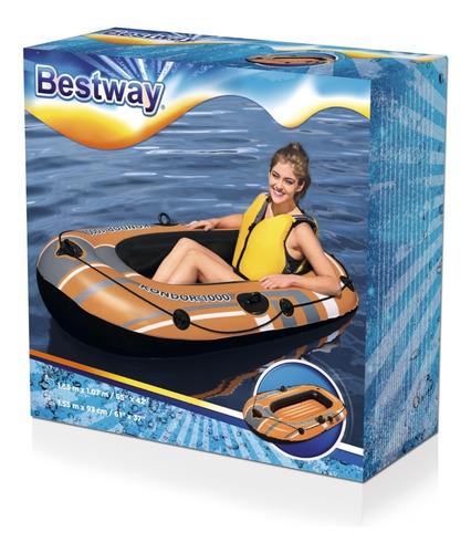 Bote Balsa Inflable 61099 De 155x97cm Bestway