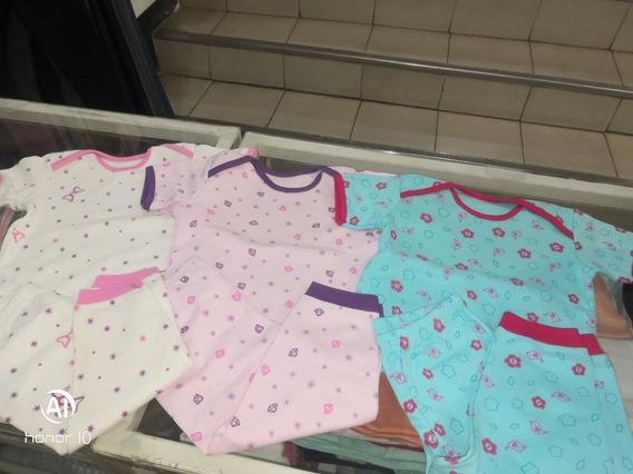 Pijama Manga Corta Para Bebe Ovejita