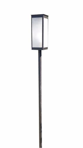 Farol Moderno Con Poste 2,5mts 2011 45cm X 18cm