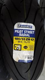 Pneu Traseiro Michelin 180 55 17 Pilot Street Hornet Radial